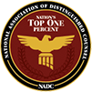 National Association of Distinguished Counsel Top 1 Percent